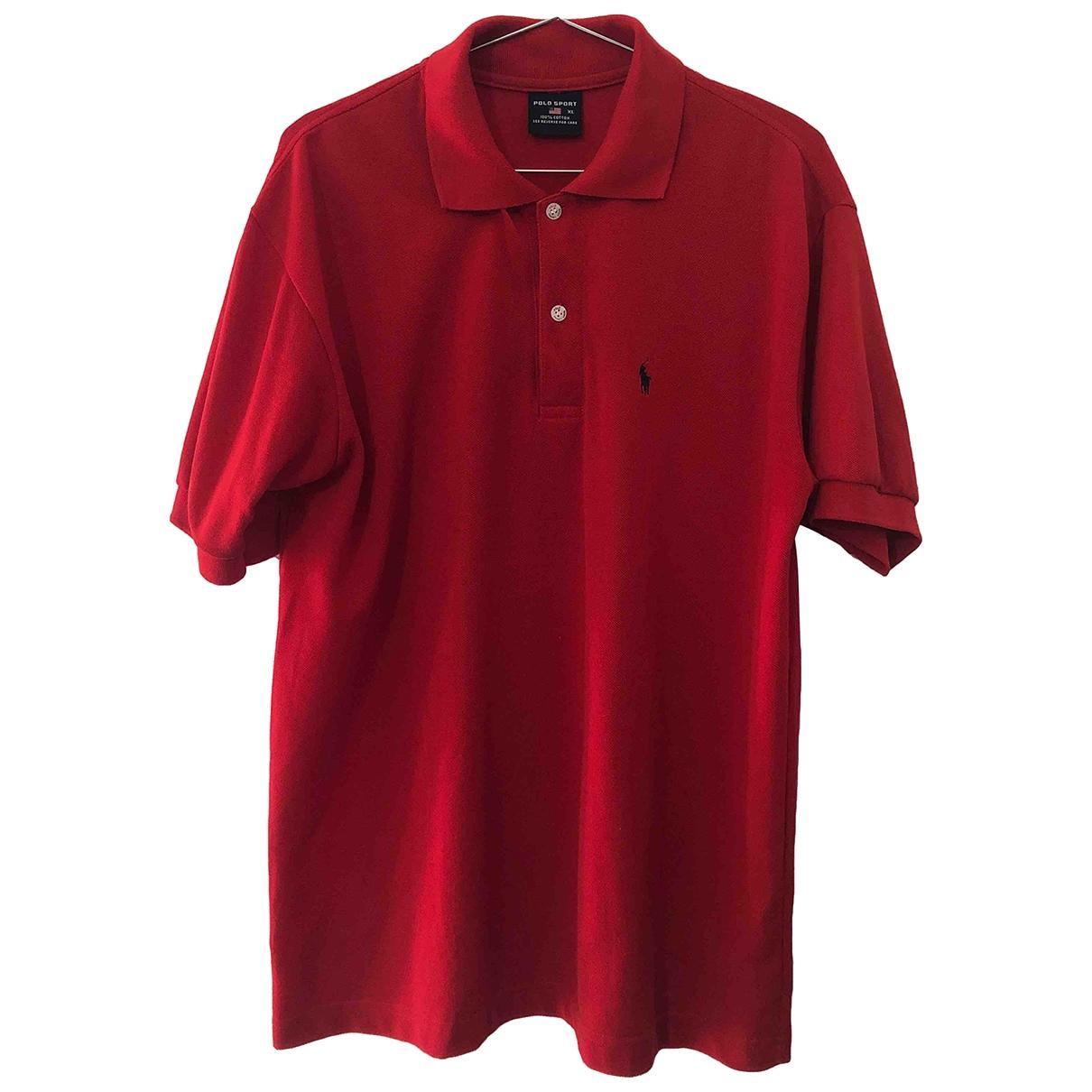 Polo Ralph Lauren - Polos   pour homme en coton - rouge