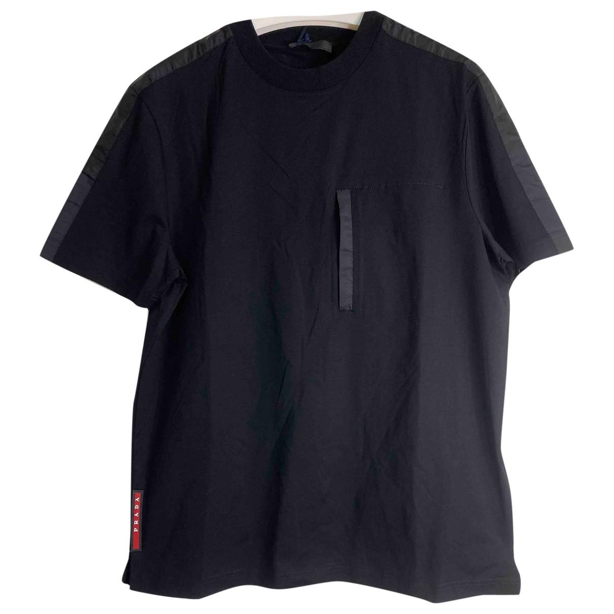 Prada \N Black Cotton T-shirts for Men XS International