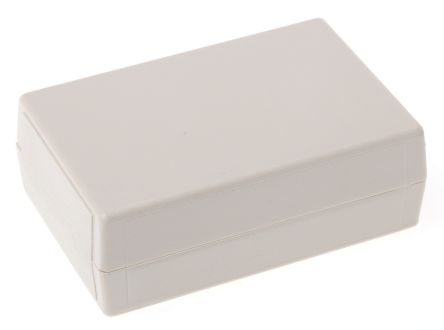 RS PRO White ABS Handheld Enclosure, 61.85 x 41.68 x 20.3mm