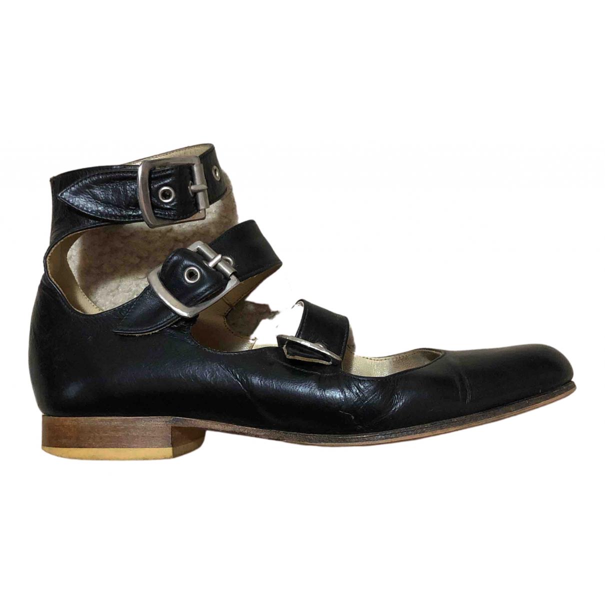 Vivienne Westwood \N Black Leather Sandals for Women 3 UK
