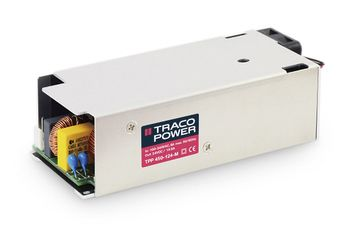 TRACOPOWER , 450W Embedded Switch Mode Power Supply SMPS, 24V dc, Enclosed, Medical Approved