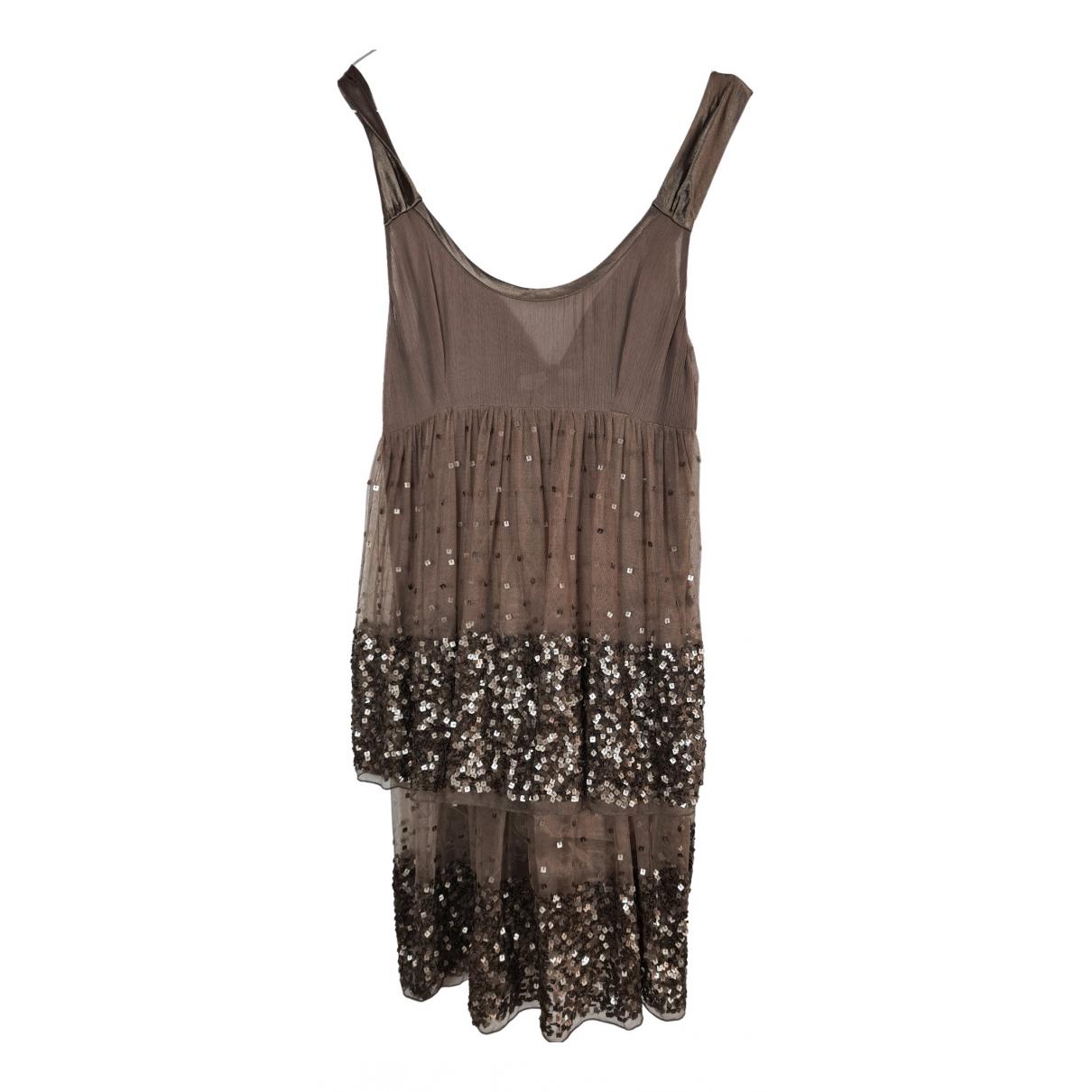 Twin Set \N Kleid in  Braun Polyester