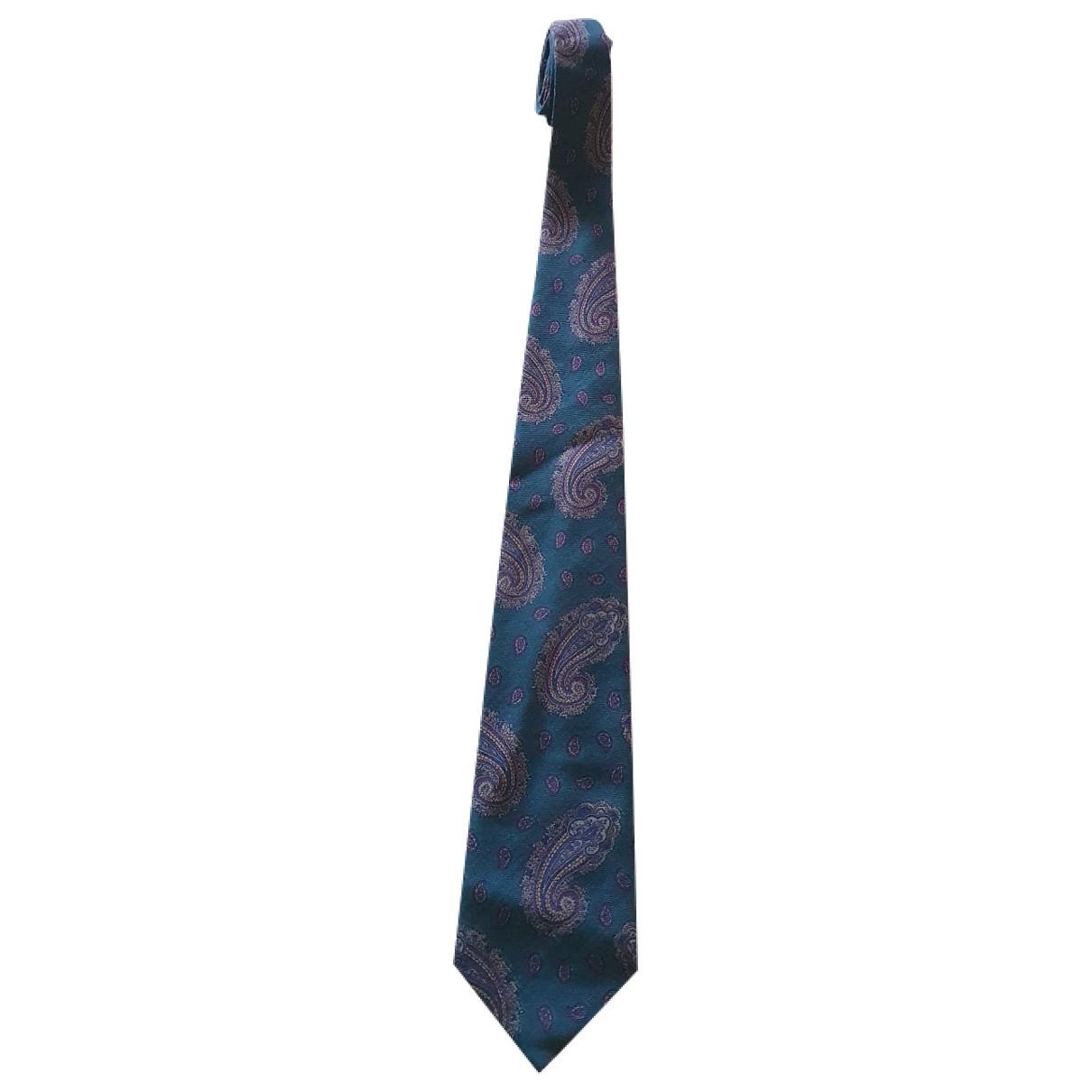 Valentino Garavani \N Krawatten in  Gruen Wolle