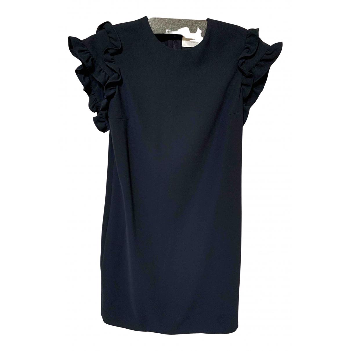 Victoria, Victoria Beckham \N Kleid in  Marine Wolle
