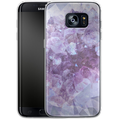 Samsung Galaxy S7 Edge Silikon Handyhuelle - Light Crystals von Emanuela Carratoni