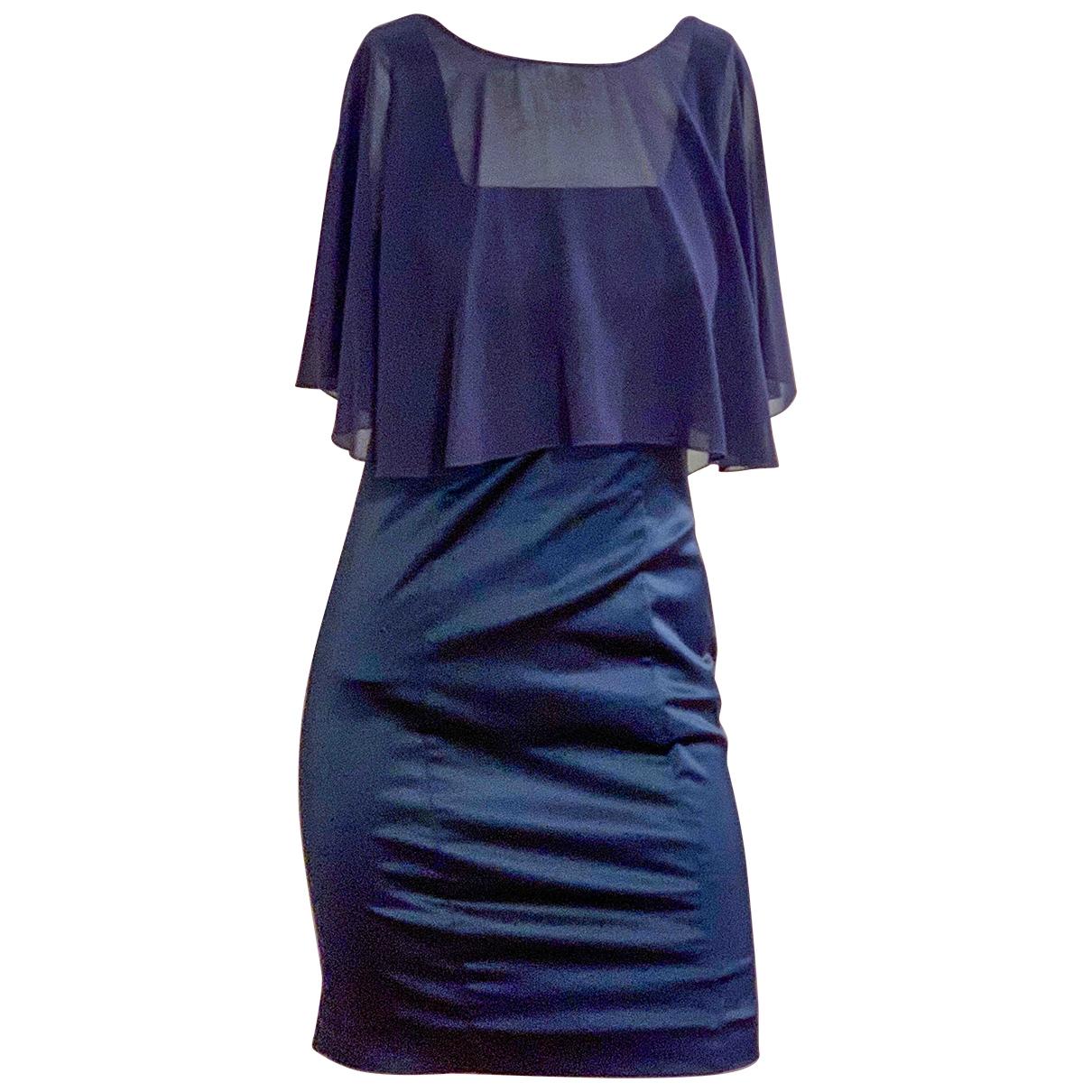 Max & Co \N Kleid in  Blau Baumwolle - Elasthan