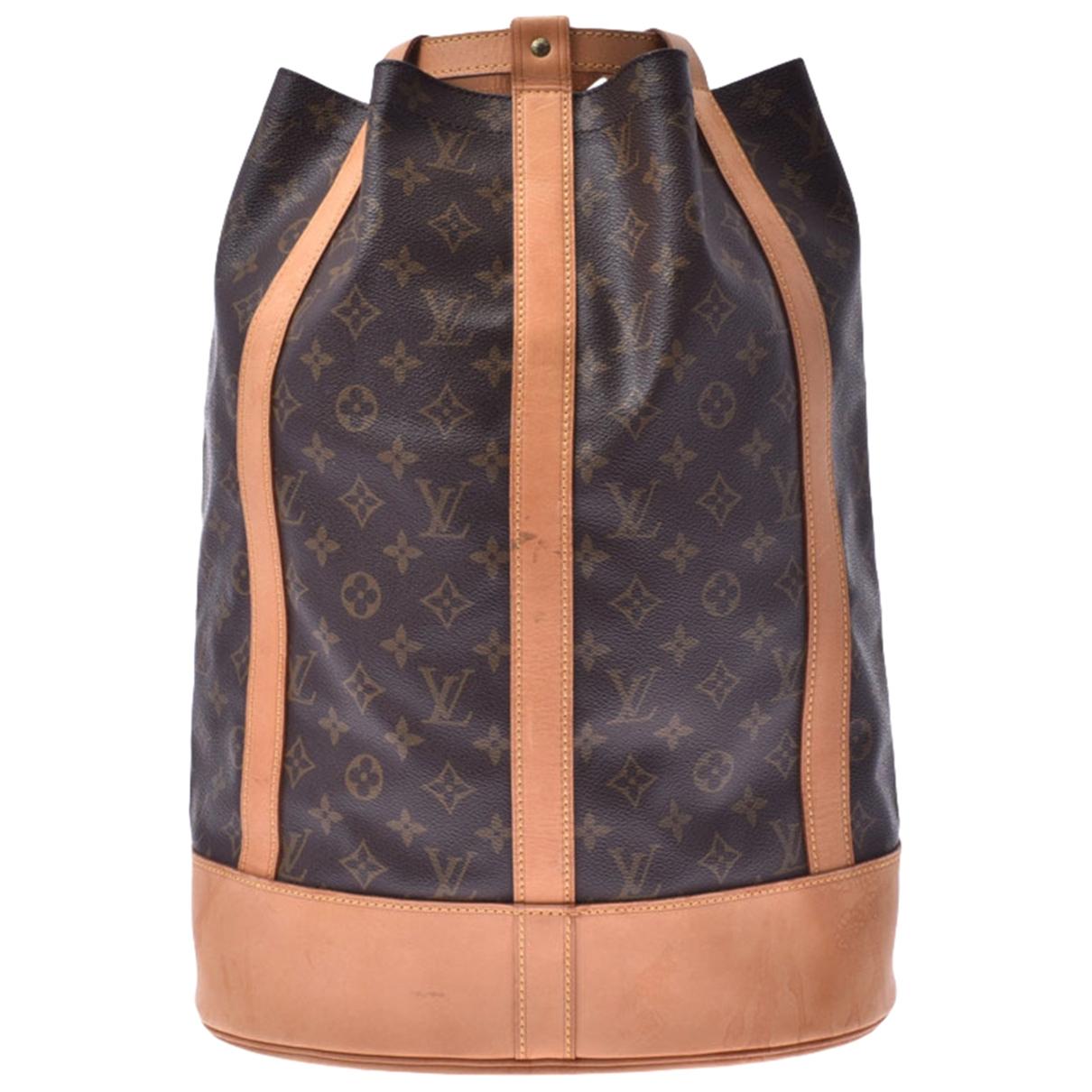 Bolso  Randonnee de Lona Louis Vuitton
