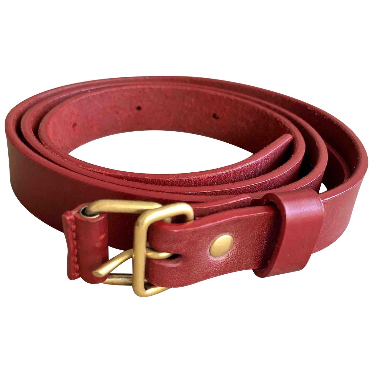 Cinturon de Cuero Balenciaga