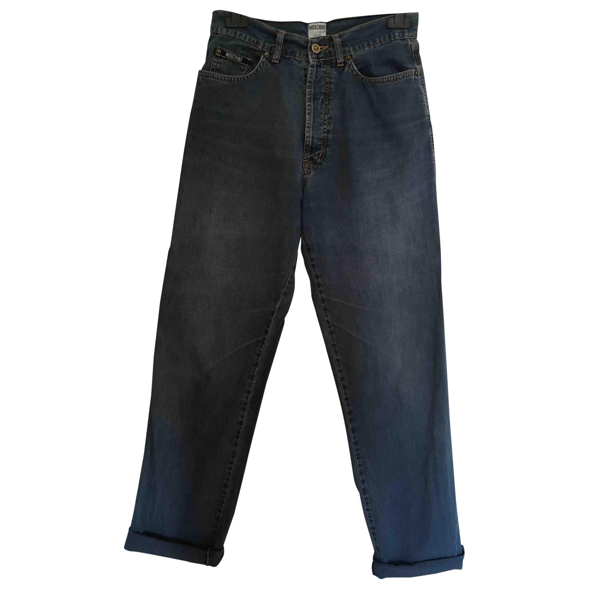 Moschino Love \N Blue Cotton Jeans for Women 31 US