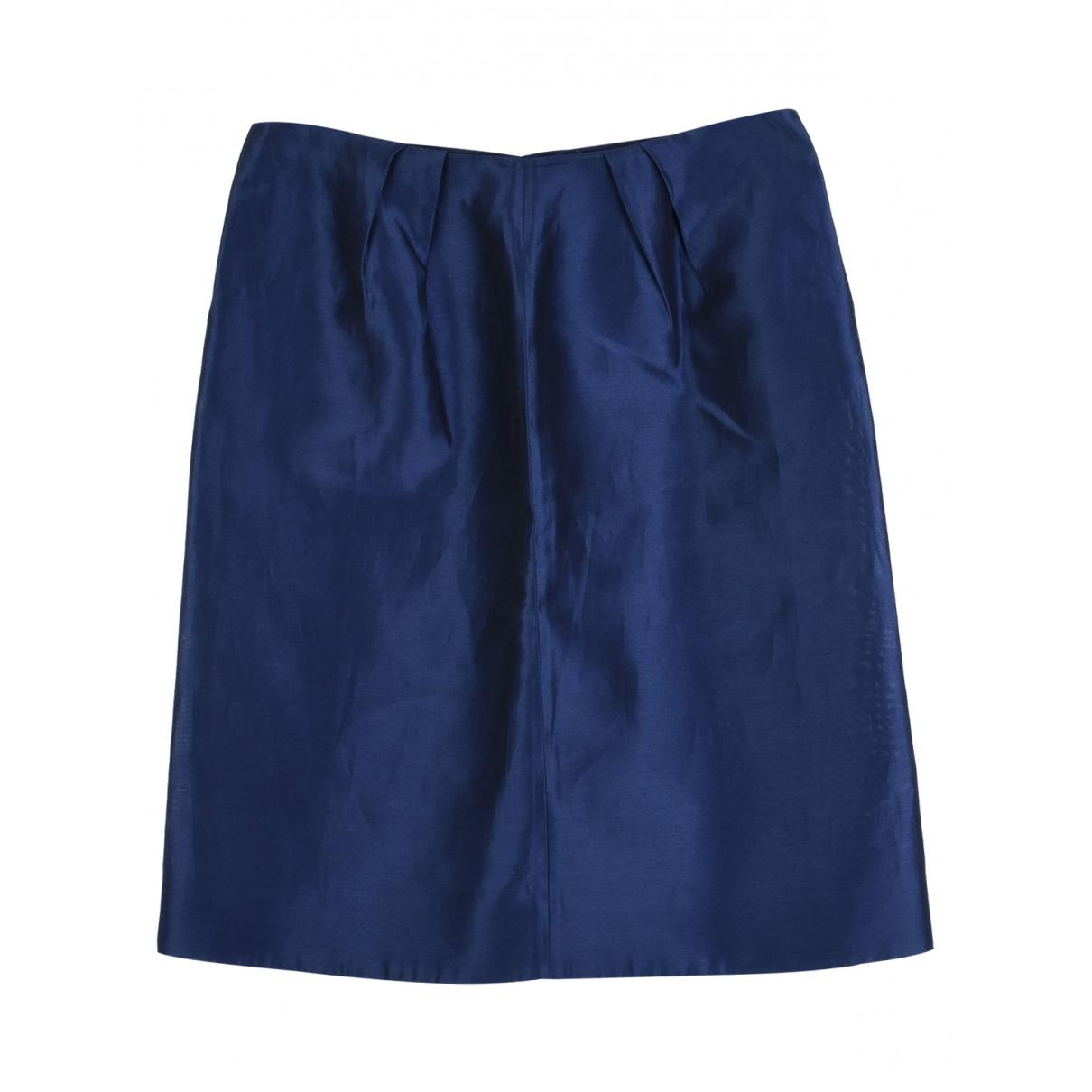 Marni - Jupe   pour femme en coton - bleu