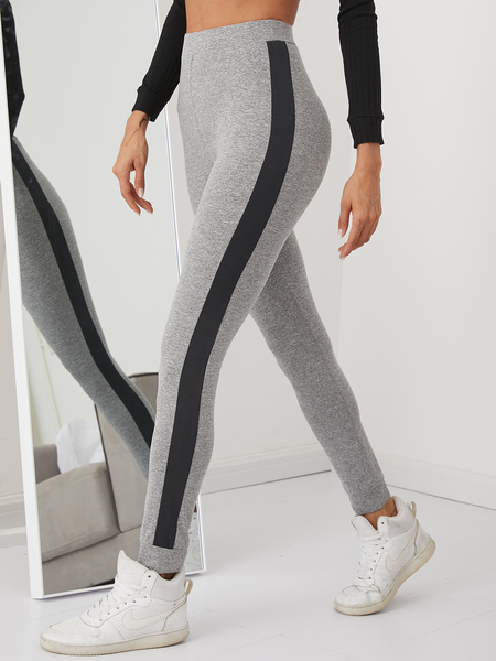 YOINS Side Ribbon High Waisted Leggings