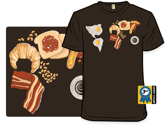 Continental Breakfast T Shirt