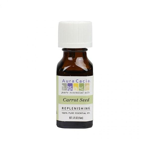 Essential Oil Carrot Seed (daucus carota) 0.5 Fl Oz by Aura Cacia