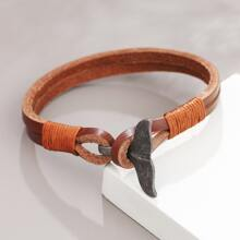 Guys Fish Tail Bracelet