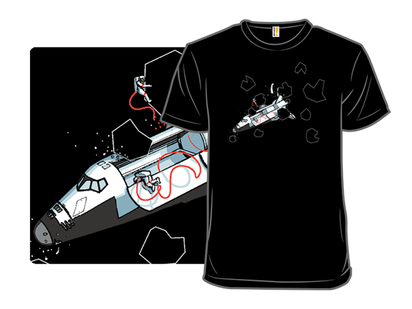 When Asteroids Strike T Shirt