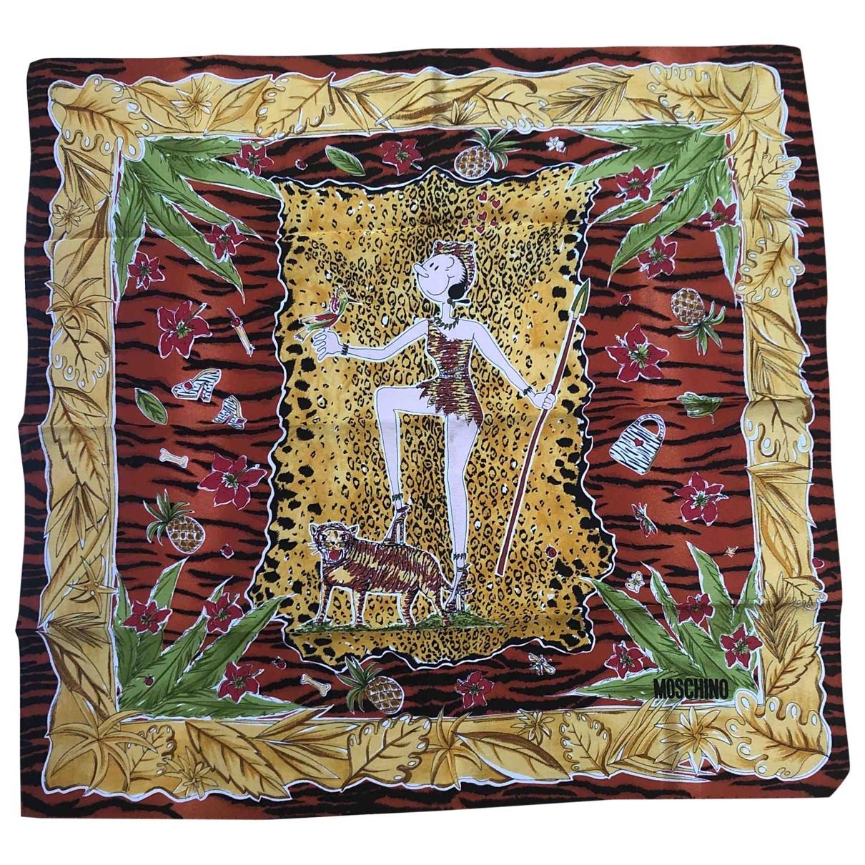 Pañuelo de Seda Moschino Cheap And Chic