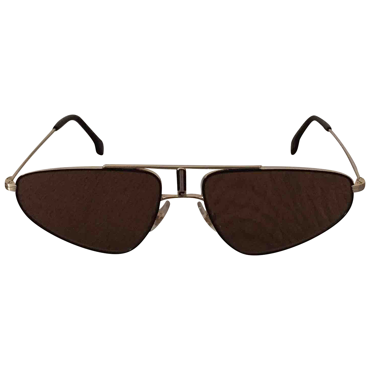 Carrera N Brown Metal Sunglasses for Women N