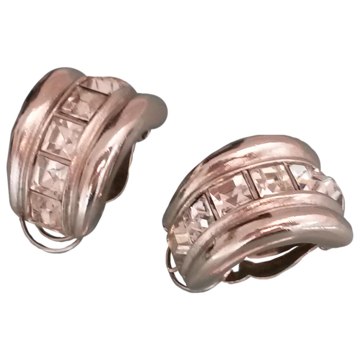 Yves Saint Laurent \N OhrRing in  Silber Metall