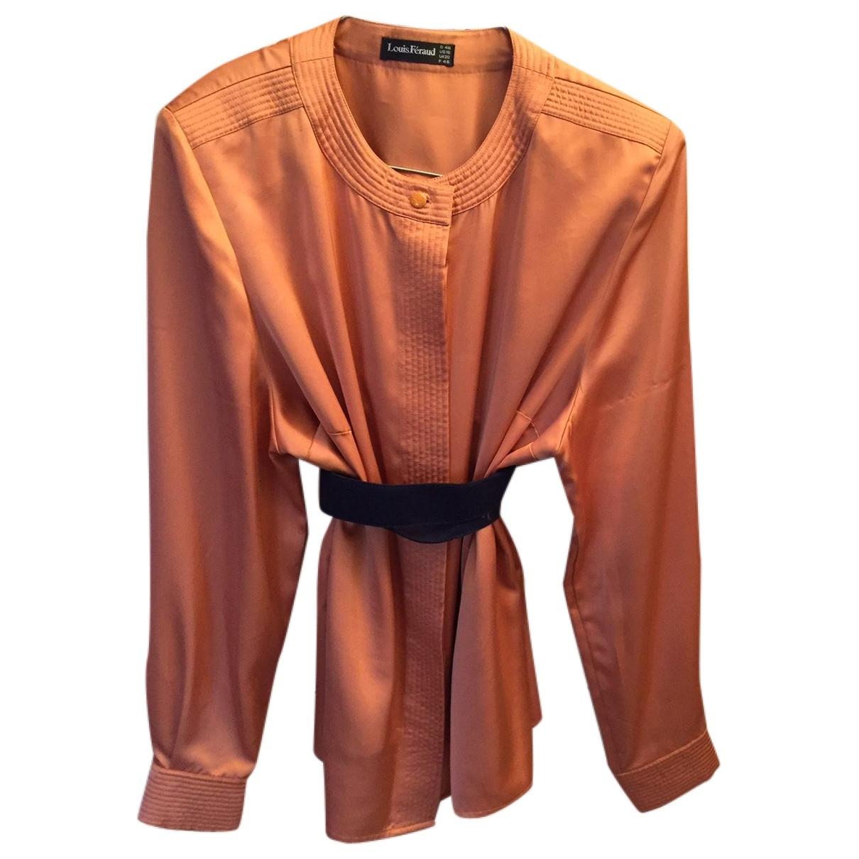 Louis Feraud \N Top in  Orange Polyester