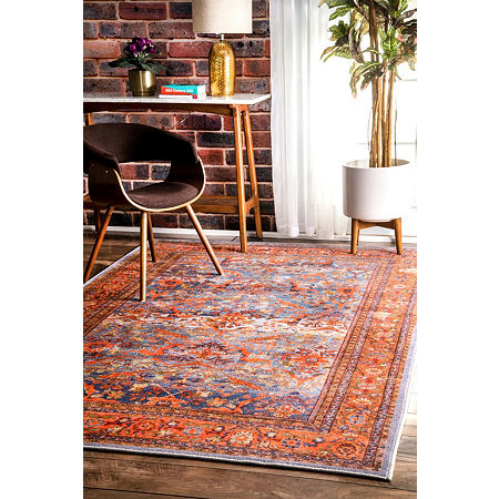 nuLoom Persian Sultanabad Faviola Area Rug, One Size , Multiple Colors