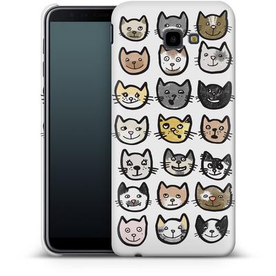 Samsung Galaxy J4 Plus Smartphone Huelle - 28 Cats von caseable Designs