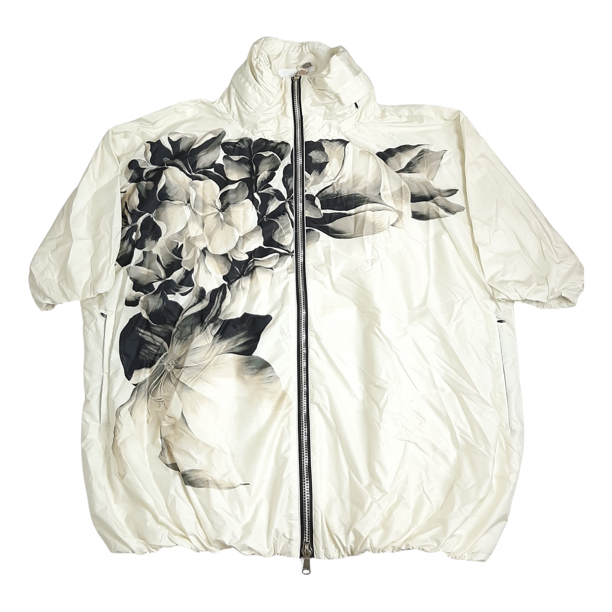 Moncler Print Ecru jacket for Women 3 0-5