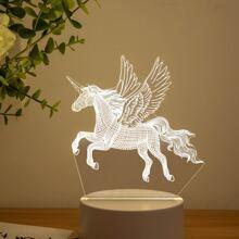 1pc Unicorn Shaped Night Light