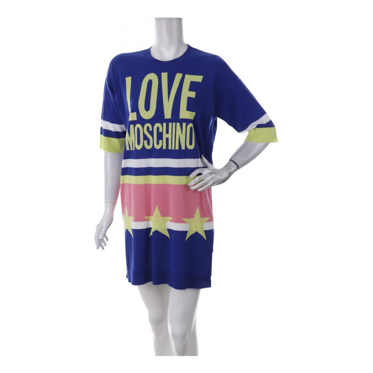 Vestido midi Moschino Love