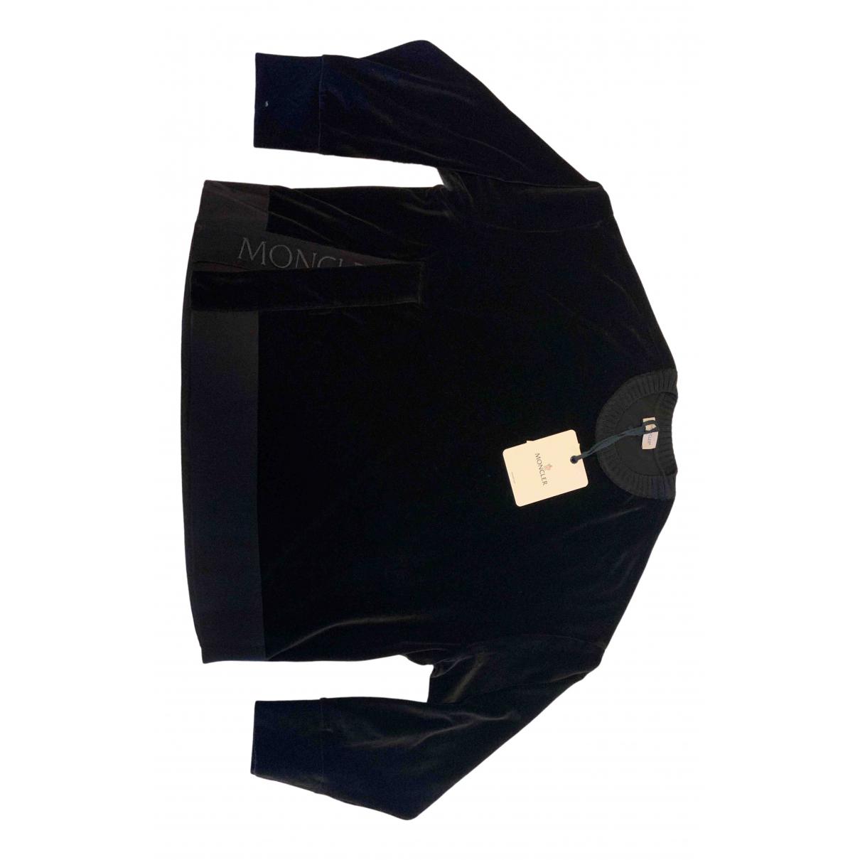 Moncler - Combinaison   pour femme en coton - noir