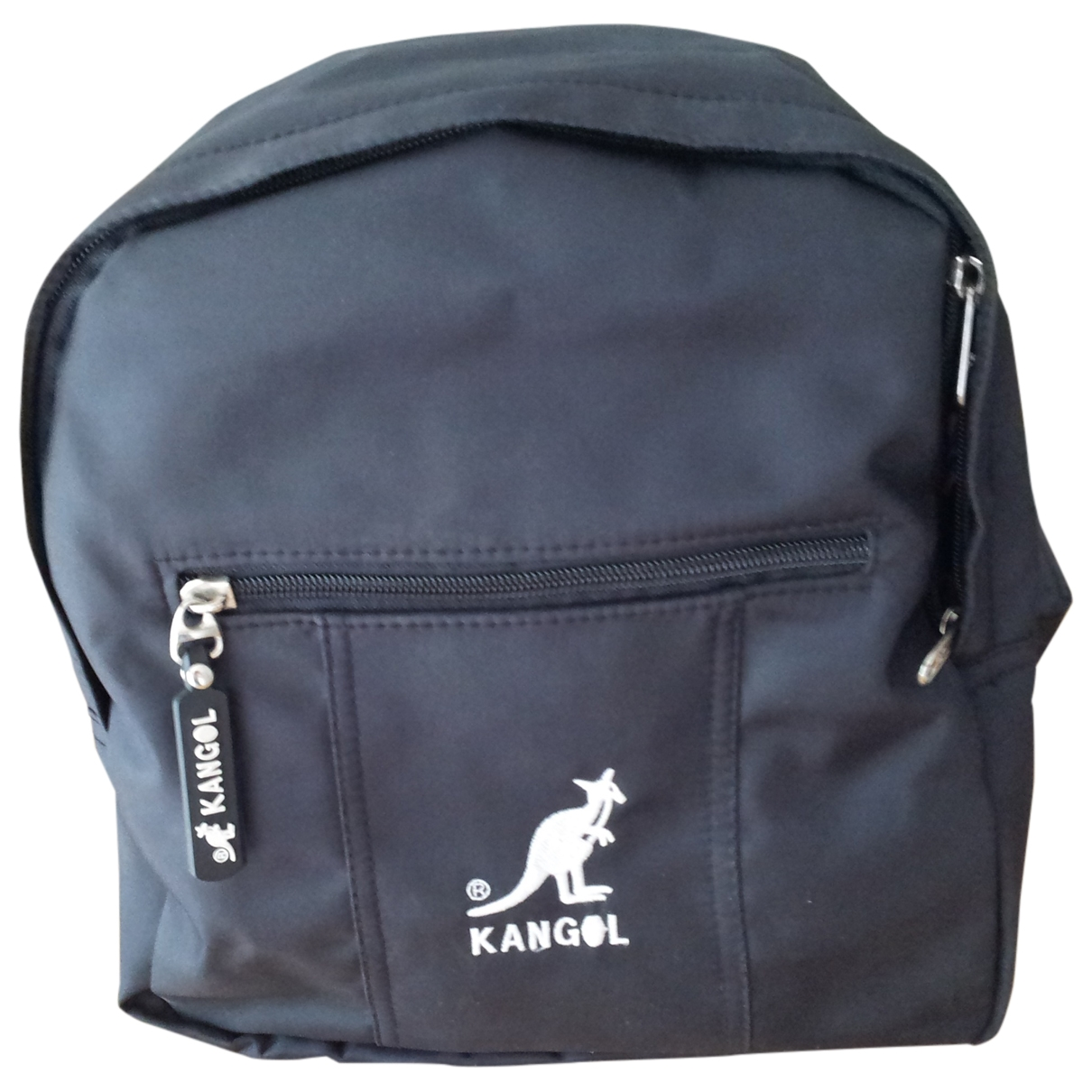 Kangol - Sac   pour enfant en cuir - noir