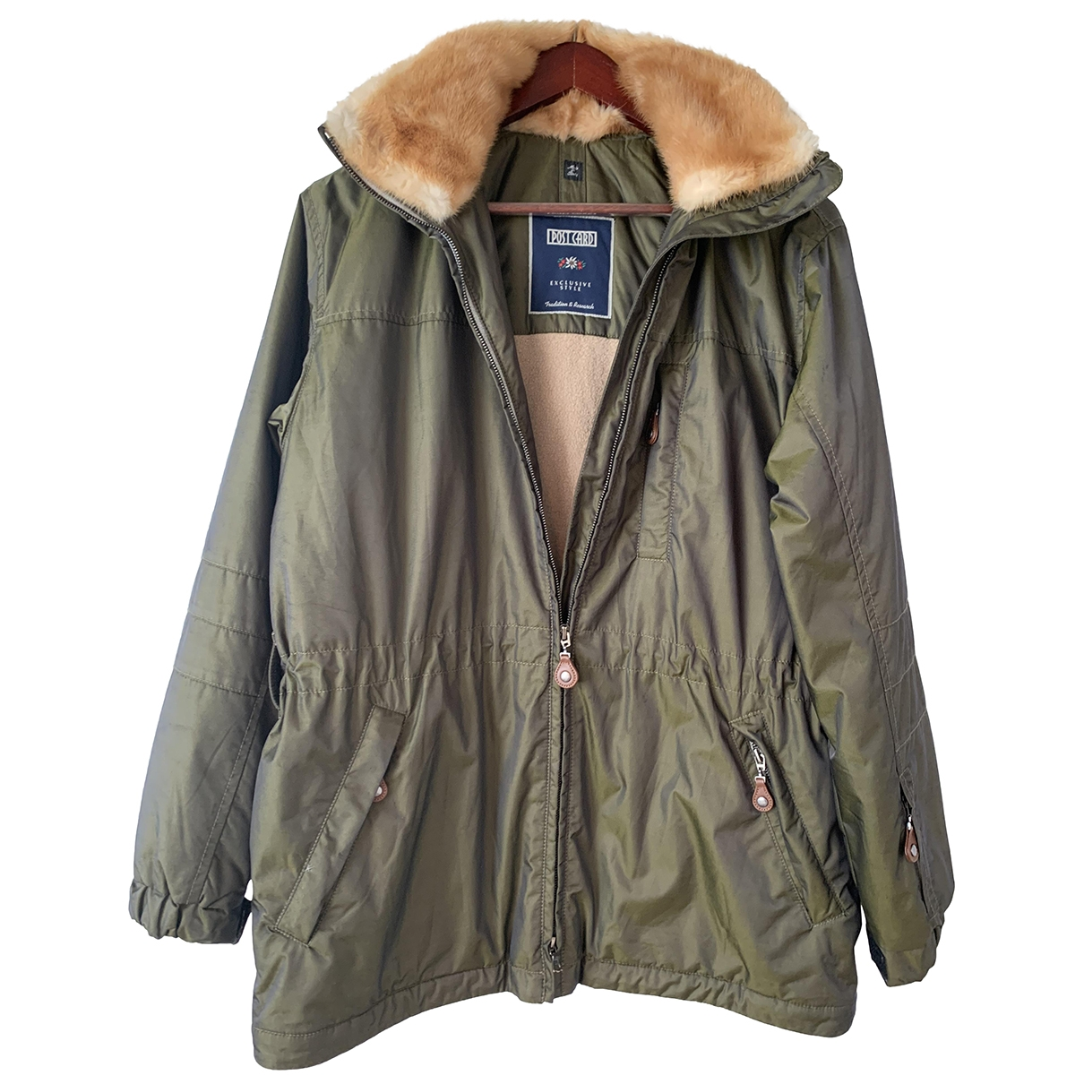 Non Signé / Unsigned \N Green coat for Women 10 UK