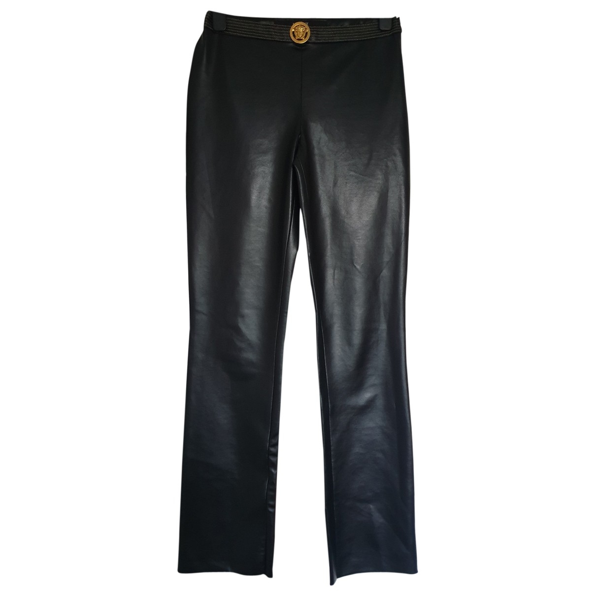 Versace Jeans \N Black Trousers for Women S International