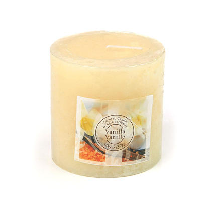 Pillar Dripless Candle For Wedding, Home Decoration 3
