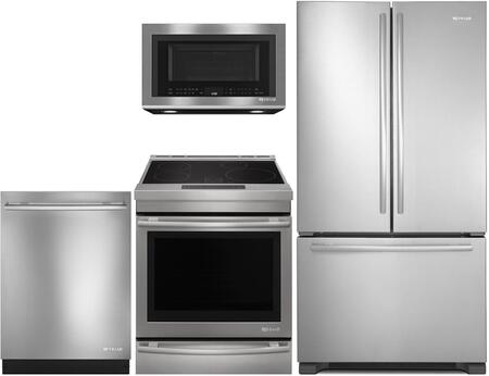 4 Piece Kitchen Appliance Package with JFC2290REM 36