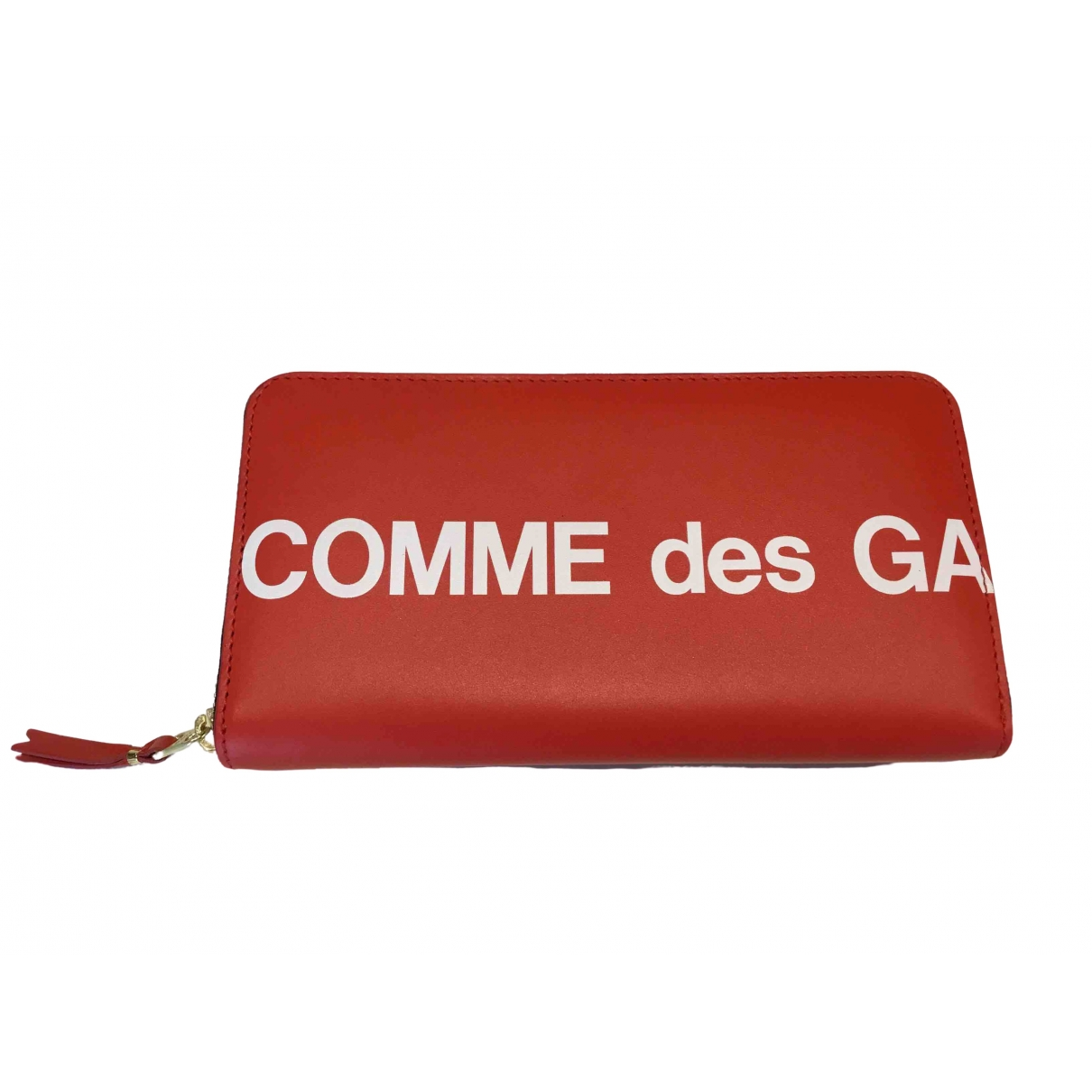 Comme Des Garcons \N Red Leather wallet for Women \N