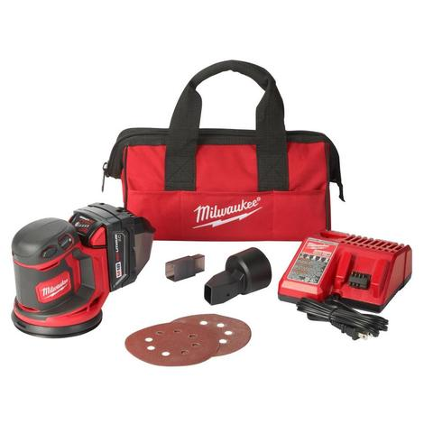 Milwaukee M18™ Random Orbit Sander Kit
