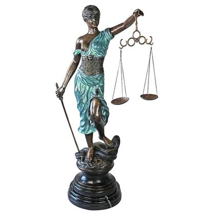 AA5075 Giant Themis Blind Justice Bronze