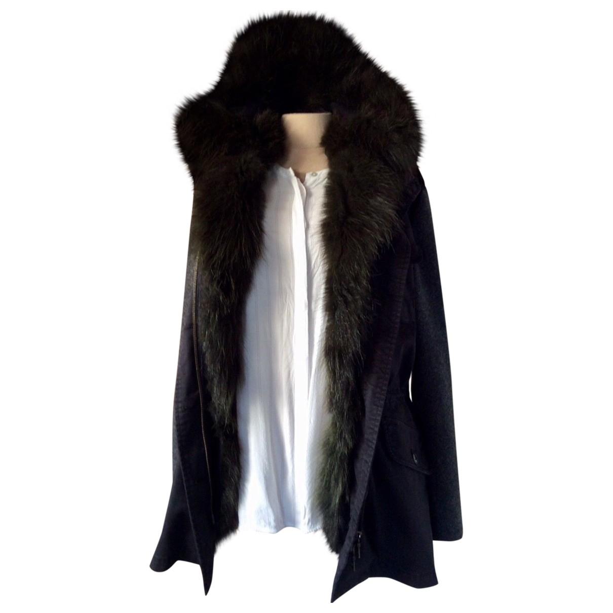 Blonde No.8 - Manteau   pour femme en laine - bleu