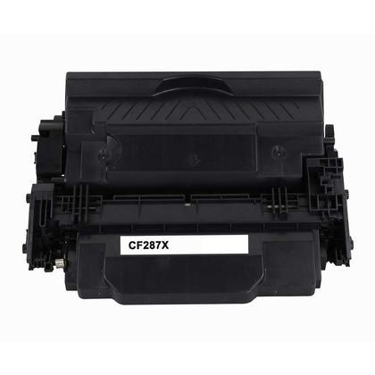 Compatible HP 87X CF287X cartouche de toner noire haute capacite - boite economique