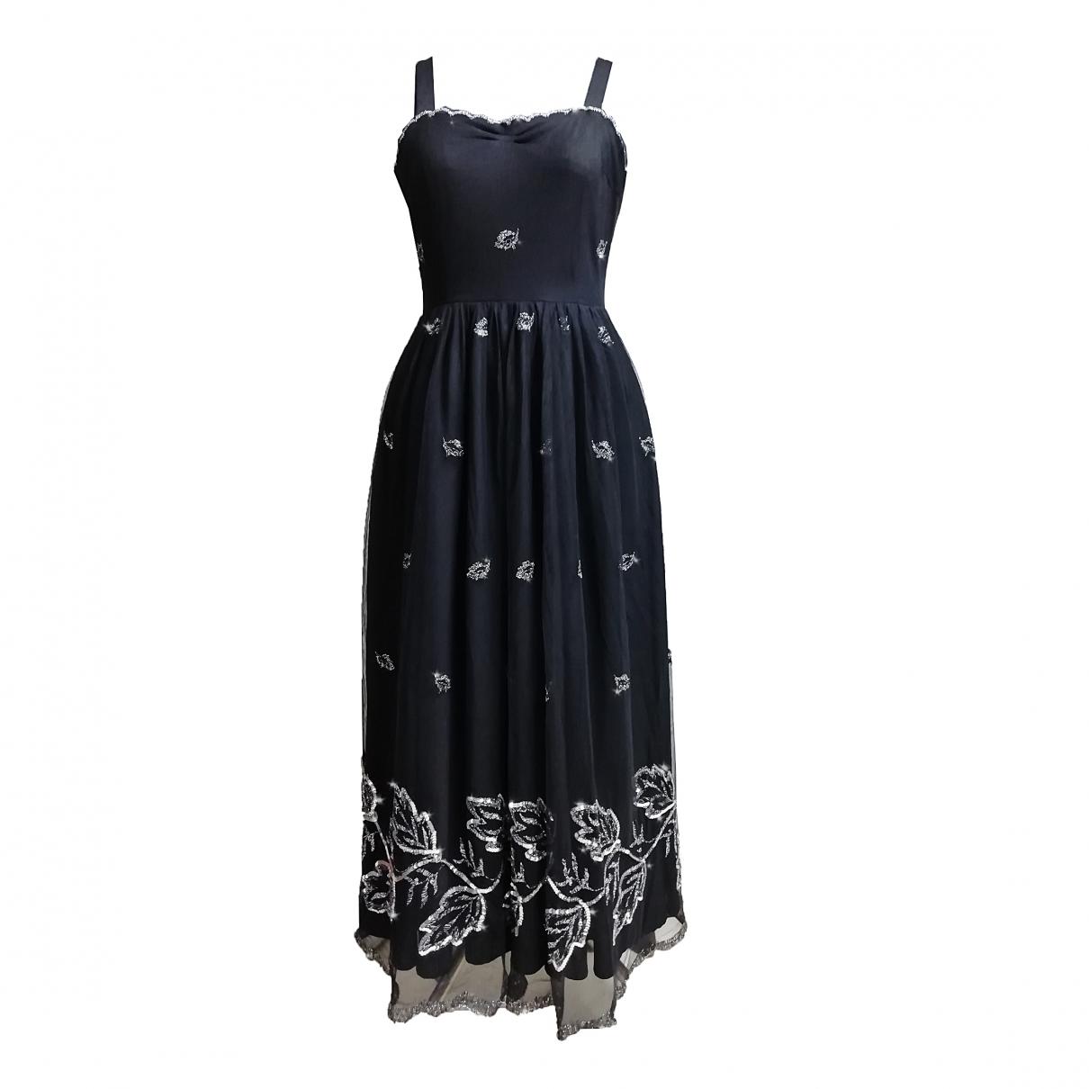 Dorette \N Black Glitter dress for Women L International