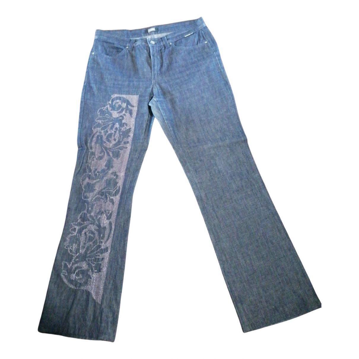 Gianfranco Ferré \N Blue Cotton Jeans for Women 31 US