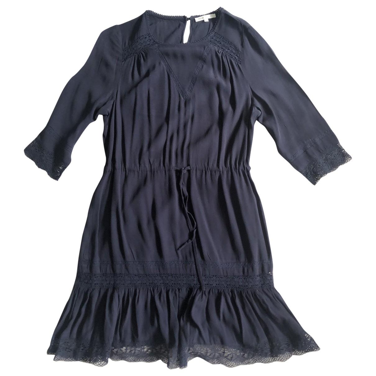 Maje - Robe   pour femme - marine