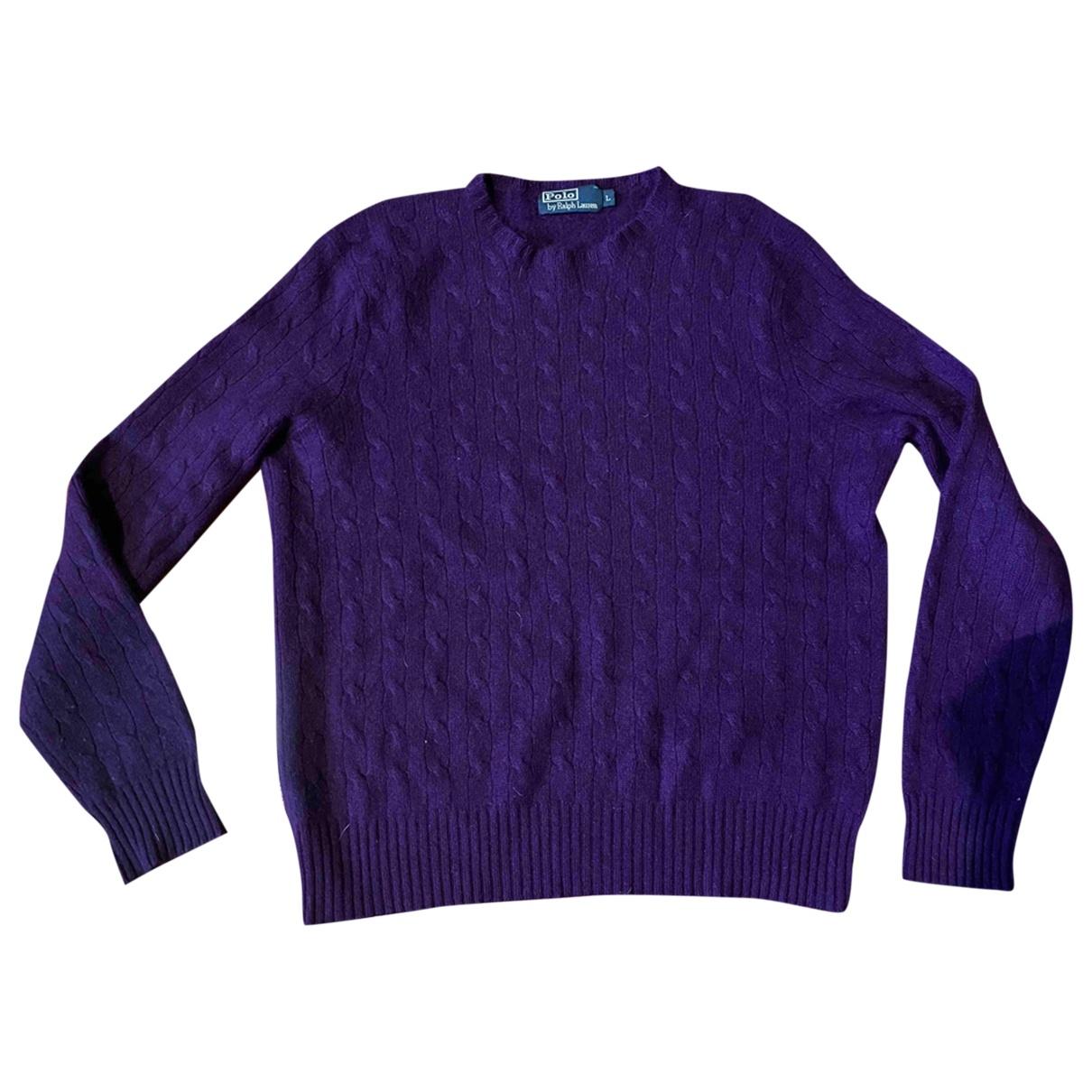Polo Ralph Lauren \N Pullover.Westen.Sweatshirts  in  Lila Kaschmir