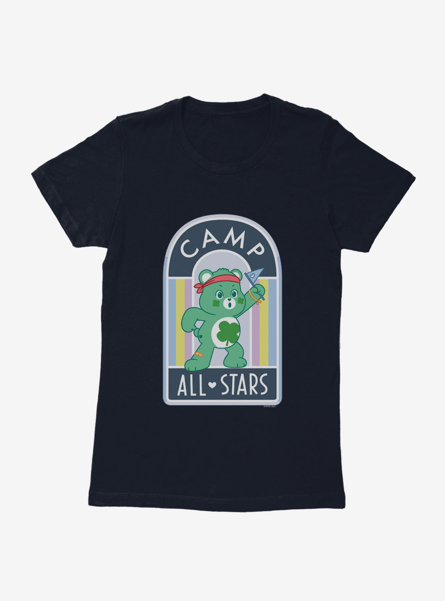 Care Bears Camp Good Luck Bear Womens T-Shirt