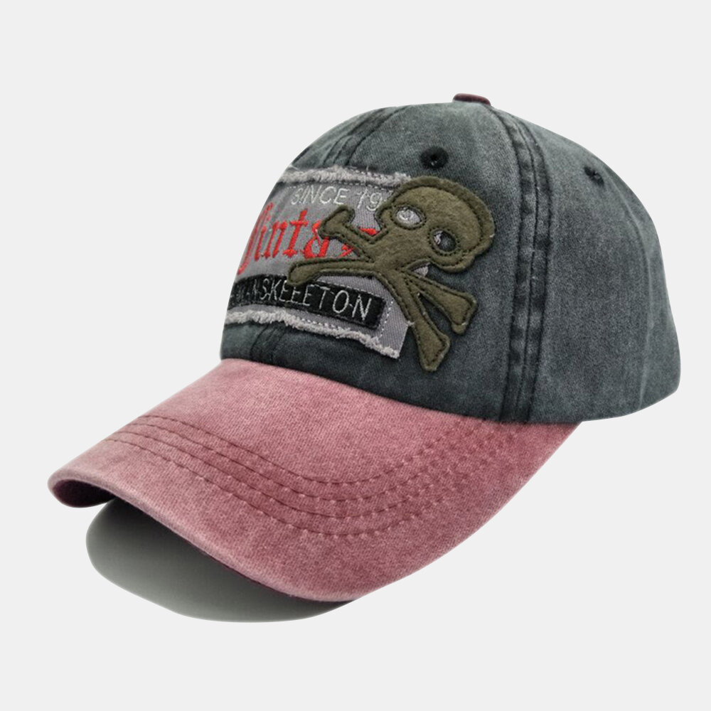 Baseball Cap Retro Sun Hat Cartoon Embroidery Hats For Outdoor