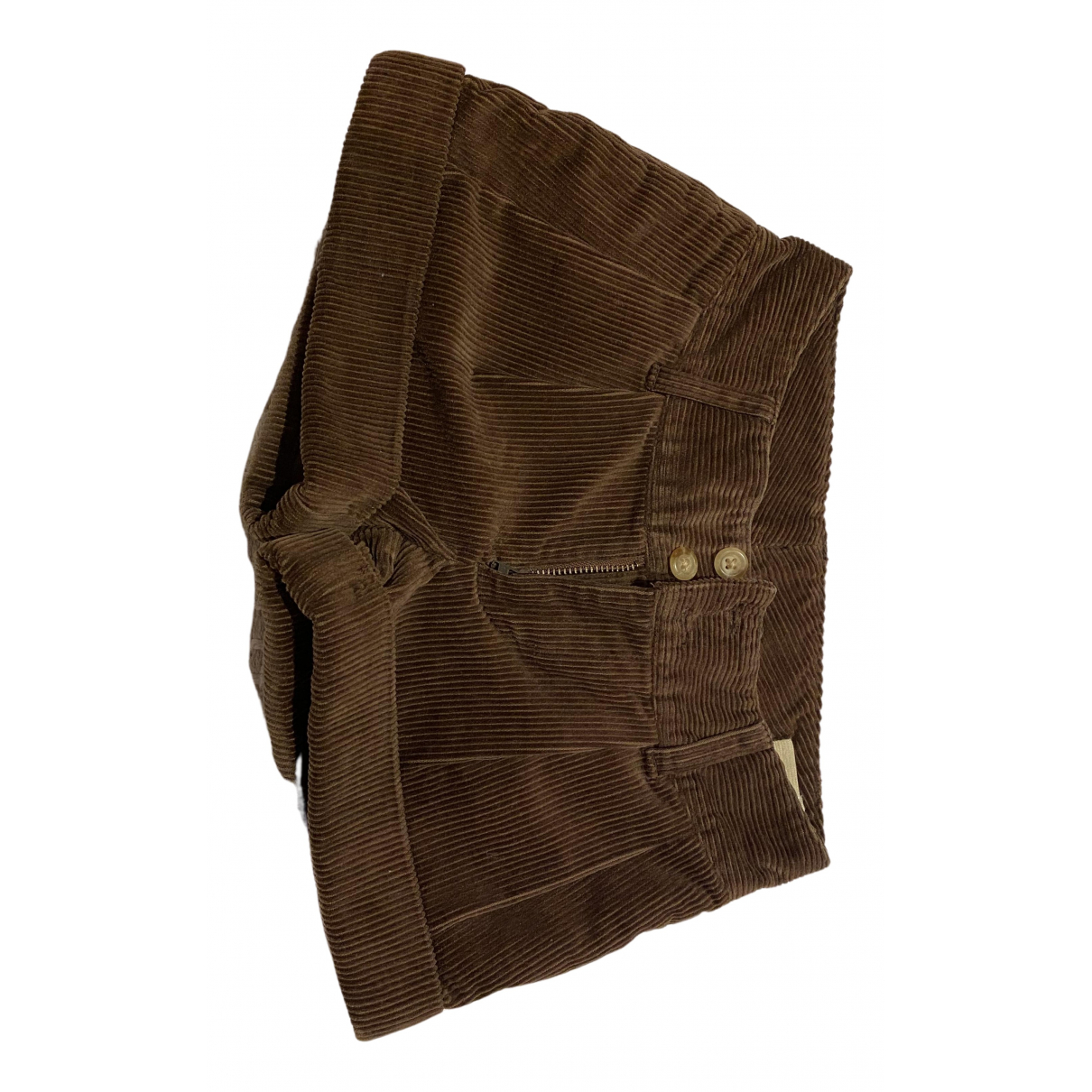 Ralph Lauren \N Shorts in  Braun Baumwolle
