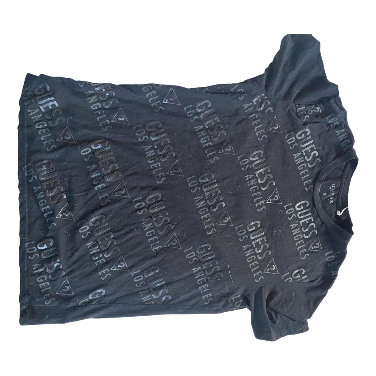 Guess - Tee shirts   pour homme - noir