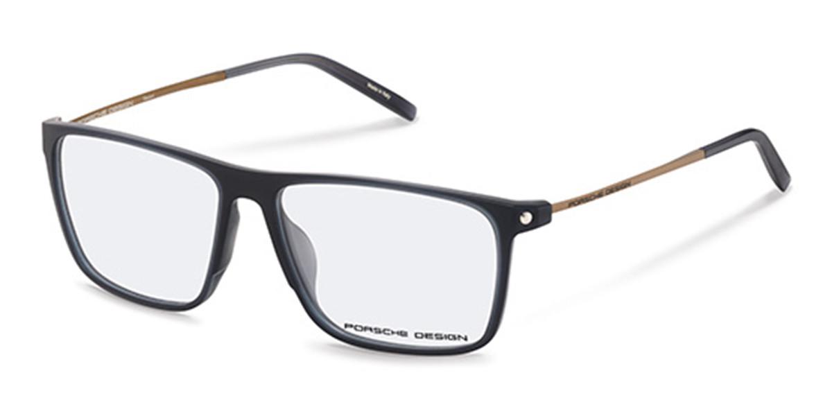 Porsche Design P8334 C Men's Glasses Grey Size 56 - Free Lenses - HSA/FSA Insurance - Blue Light Block Available