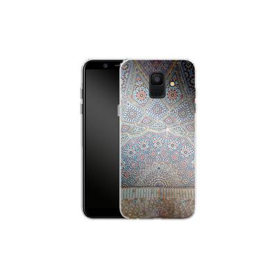 Samsung Galaxy A6 Silikon Handyhuelle - Iranian Mosaic von Omid Scheybani