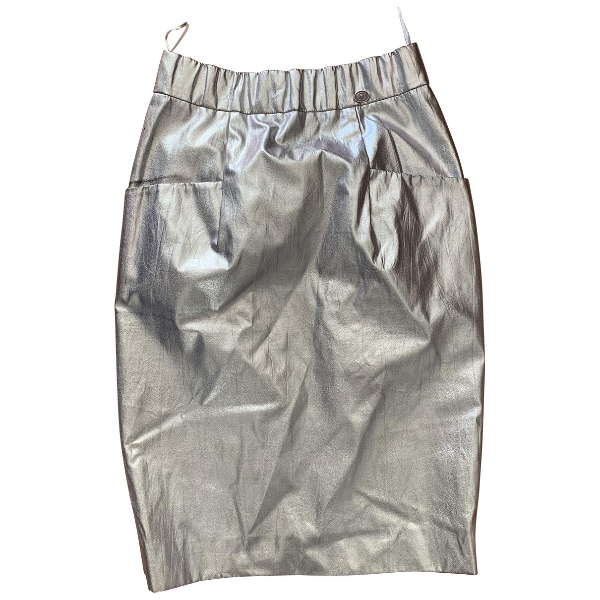 Chanel \N Rocke in  Silber Polyester